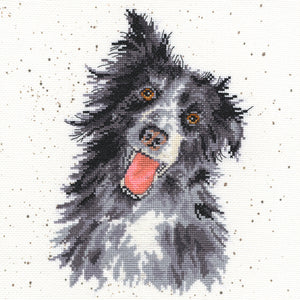 Collie Cross Stitch Kit