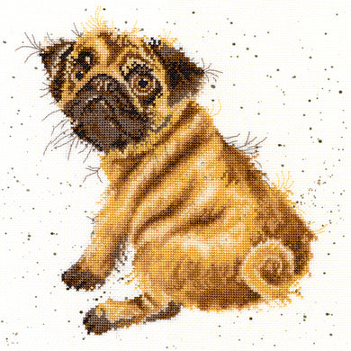 Pug Cross Stitch Kit