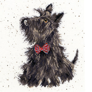 Scottie Cross Stitch Kit
