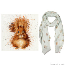 Load image into Gallery viewer, The Nutcracker Gift Set - Cross Stitch Kit & Woodland Scarf