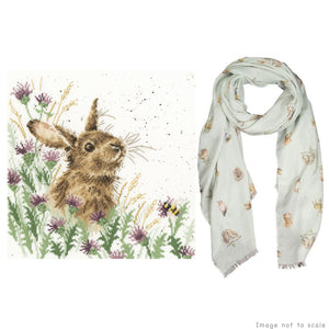 The Meadow Gift Set - Cross Stitch Kit & Scarf