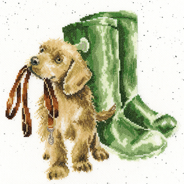 Hopeful Cross Stitch Kit