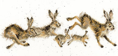 Spring in Your Step Cross Stitch Kit