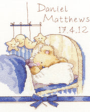 Load image into Gallery viewer, Huggles Bedtime Cross Stitch Kit