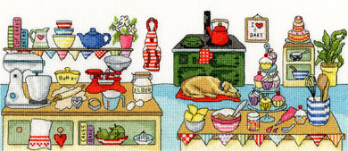 Baking Fun Cross Stitch Kit