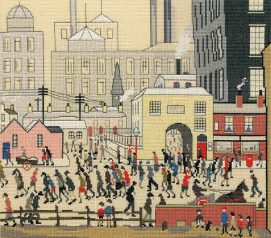 Coming From the Mill (Lowry) Cross Stitch Kit
