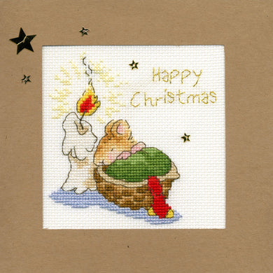 First Christmas Christmas Card Cross Stitch Kit