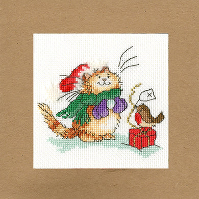 Just For You Christmas Card Cross Stitch Kit