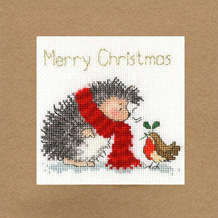 Christmas Wishes Christmas Card Cross Stitch Kit
