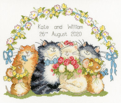 The Purrrfect Day Cross Stitch Kit