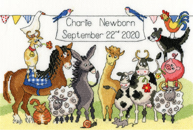 Something to Crow About Cross Stitch Kit