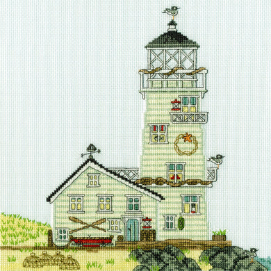 New England - The Lighthouse Cross Stitch Kit