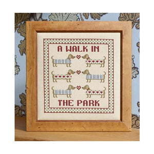 A Walk in the Park Cross Stitch Kit