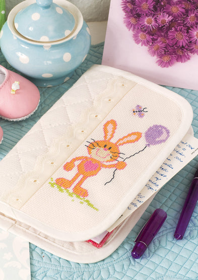 Bunny with Balloon ~ Baby ~ Downloadable PDF