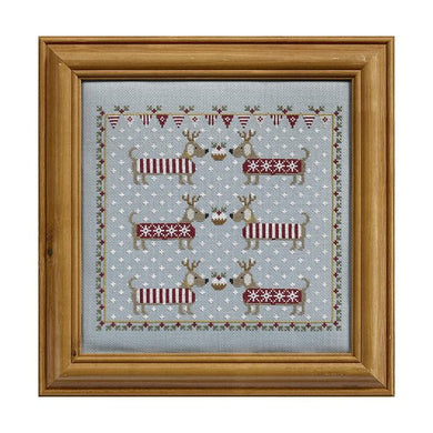 Chilly Dogs Cross Stitch Kit
