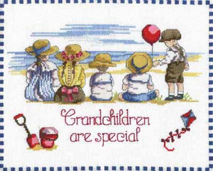 Grandchildren are Special Cross Stitch Kit