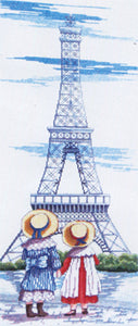 Eiffel Tower Cross Stitch Kit