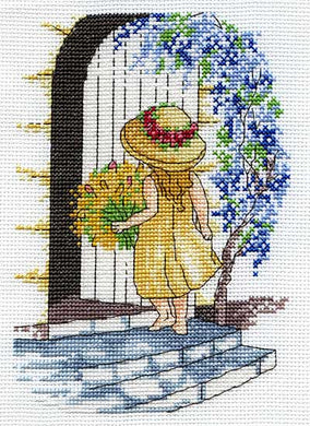 Wisteria Cross Stitch Kit