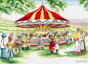 Countryside Carousel Cross Stitch Kit