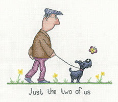Just the Two of Us Cross Stitch Kit
