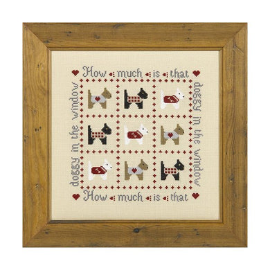 How Much is that Doggy Cross Stitch Kit