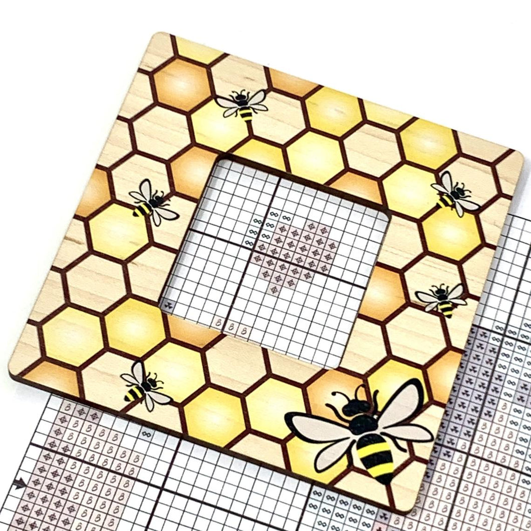 Bee Window Pattern Marker