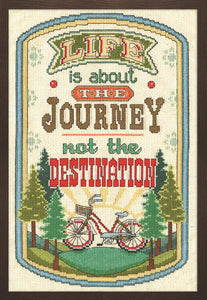 The Journey Cross Stitch Kit