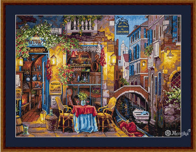 Special Place in Venice Cross Stitch Kit