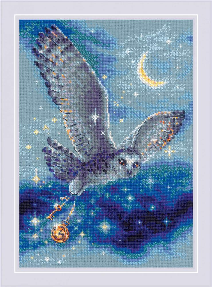 Magic Owl Cross Stitch Kit