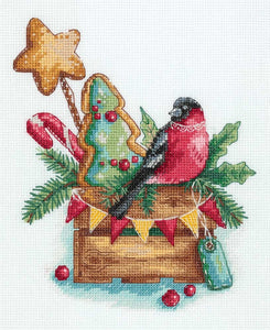 Holiday Treats Cross Stitch Kit
