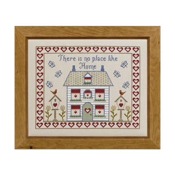 There is No Place Like Home Cross Stitch Kit