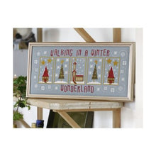 Load image into Gallery viewer, Winter Wonderland Cross Stitch Kit