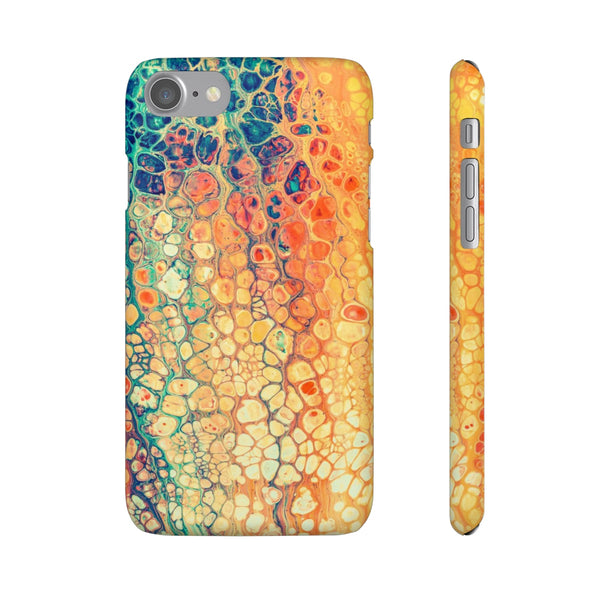 iPhone 7 case | Rainbow Marble