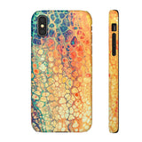 iPhone 8 case | Rainbow Marble
