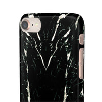 iPhone case | Black Marble