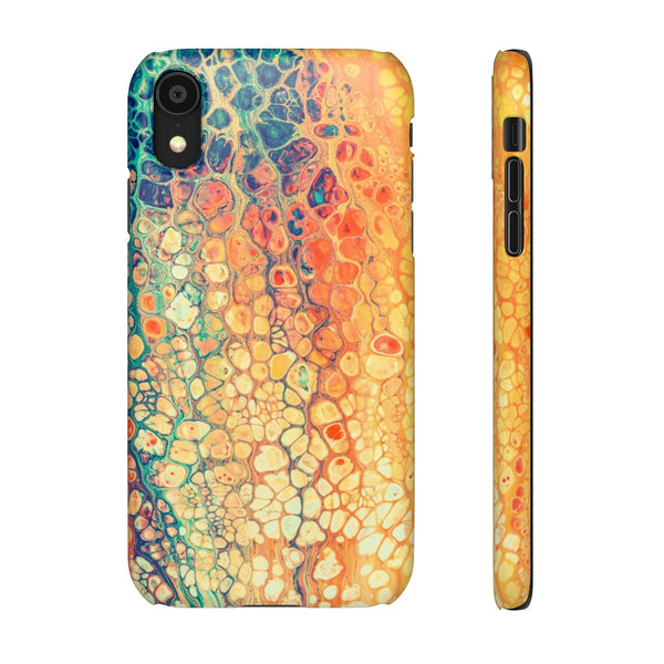 iPhone XR case | Rainbow Marble