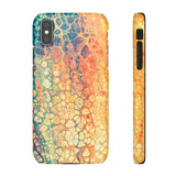 iPhone X case | Rainbow Marble
