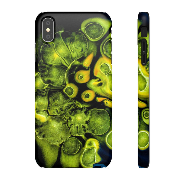 iPhone XS Max case | Bubble Marble