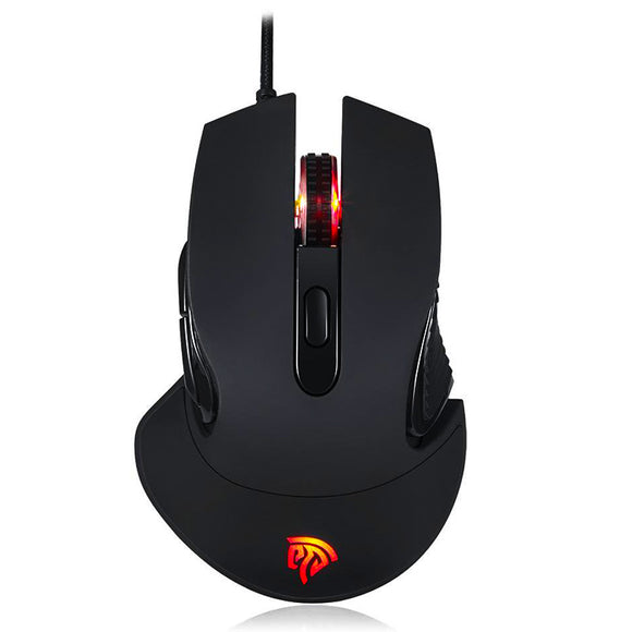 GM-787 Optical Gaming Mouse - Standing birds eye view