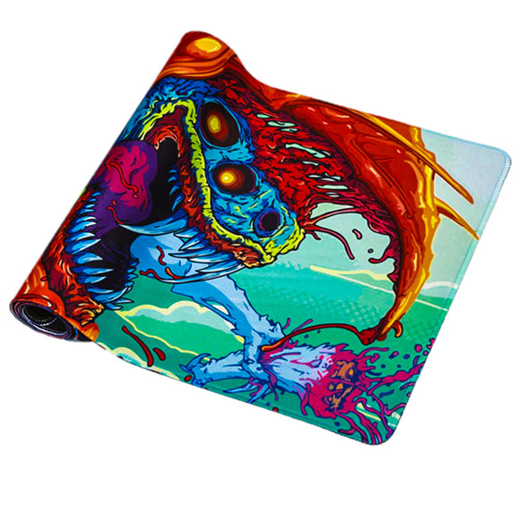 Beast 1 Gaming Mouse Pad - Half rolled