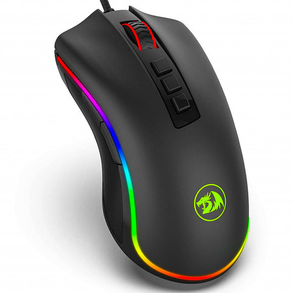 Redragon M711 Cobra Optical Gaming Mouse - Standing view