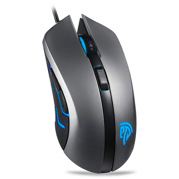 SI-9031 Optical Gaming Mouse - Standing sky angled view