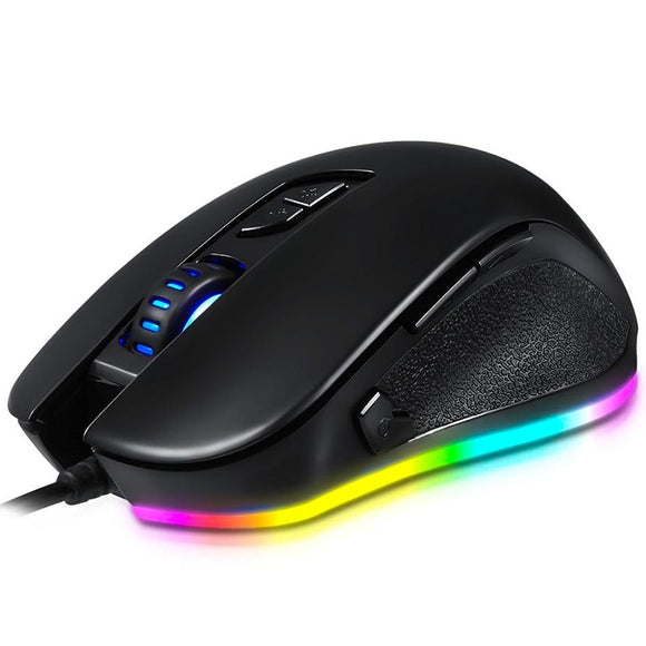 T47 Optical Gaming Mouse - Side angled view