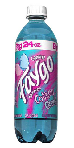 Faygo Cotton Candy 24oz