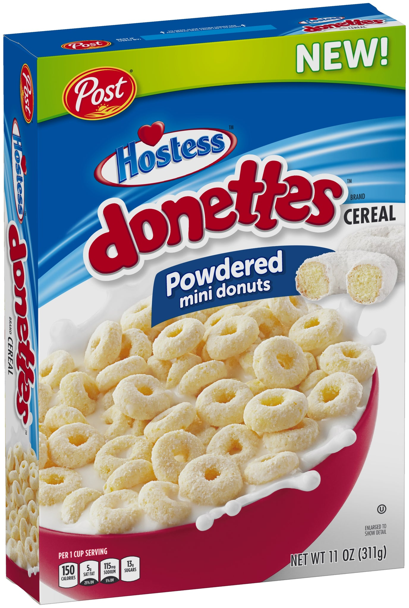 Donettes Hostess Cereal