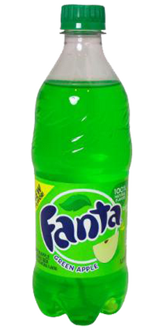 Green apple fanta
