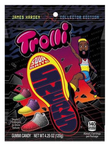 Trolli sour bite james harden sneakers