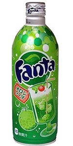 Fanta melon soda Japanese