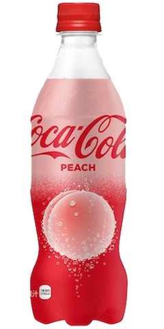 Coca-Cola Peach Japanese edition