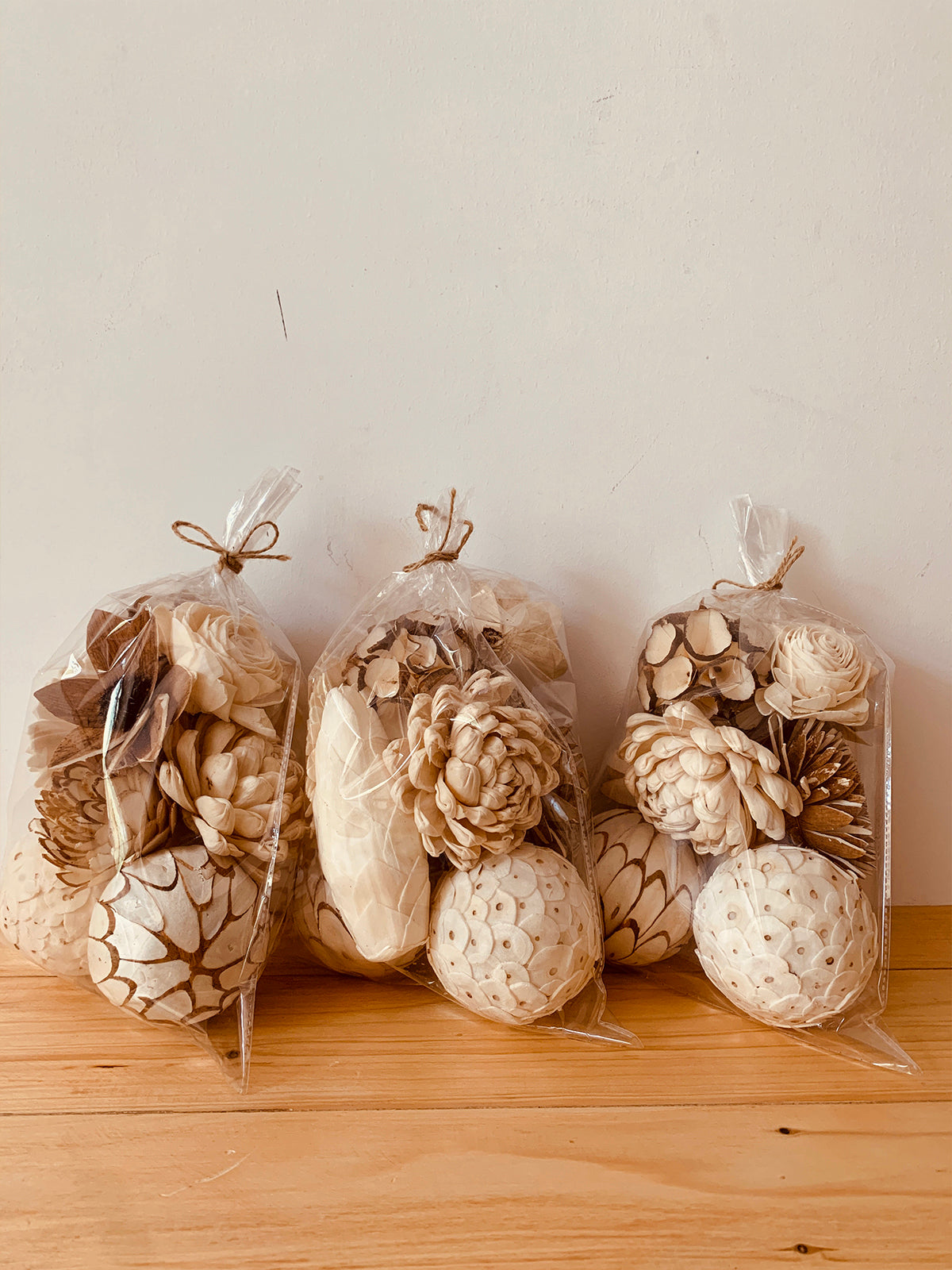 Potpourri Wood flowers Unscented